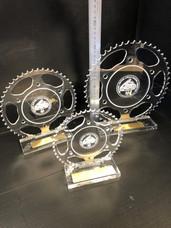 Custom acrylic trophies