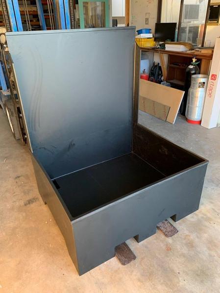 HDPE chemical bunding tank