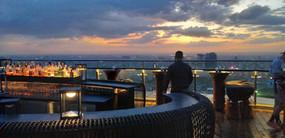 Cambodia MotorBike Tours - Phnom Penh Night Sky Line