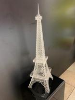Laser cut acrylic Eiffel Tower model