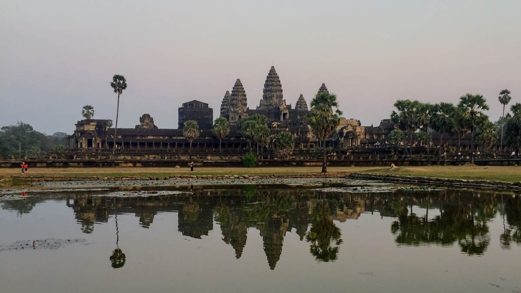 Cambodia MotorBike Tours - The Mighty Ankor Wat
