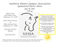 SHJA DOUBLE POINT SHOW JULY 30th