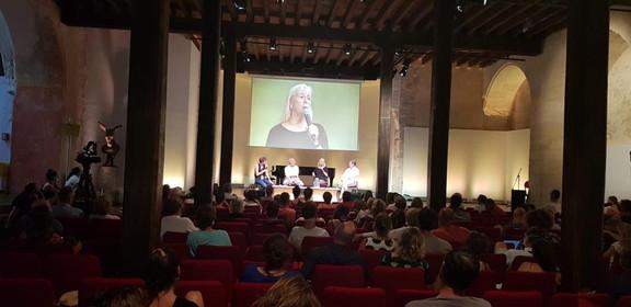 Conférence Elisabeth Ayrault @benjamin Cayzac