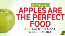 5 Reasons Apples Are the Perfect Fit Food Plus Protein Apple Sorbet Recipe http://www.fitnessrxwomen