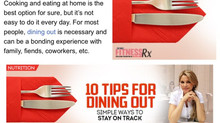 10 Tips for Dining Out Simple ways to stay on track