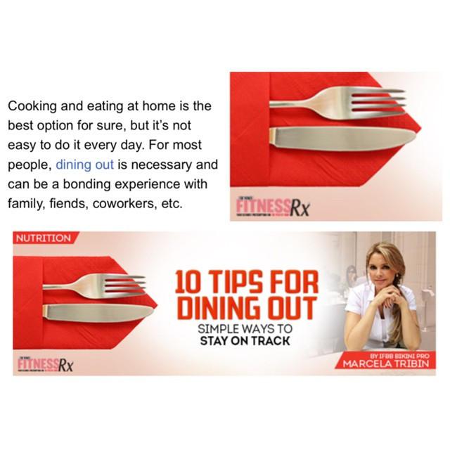 #marcelatribin #nutrition #diet #health #tips #FitnessRx #magazine #coach #easy