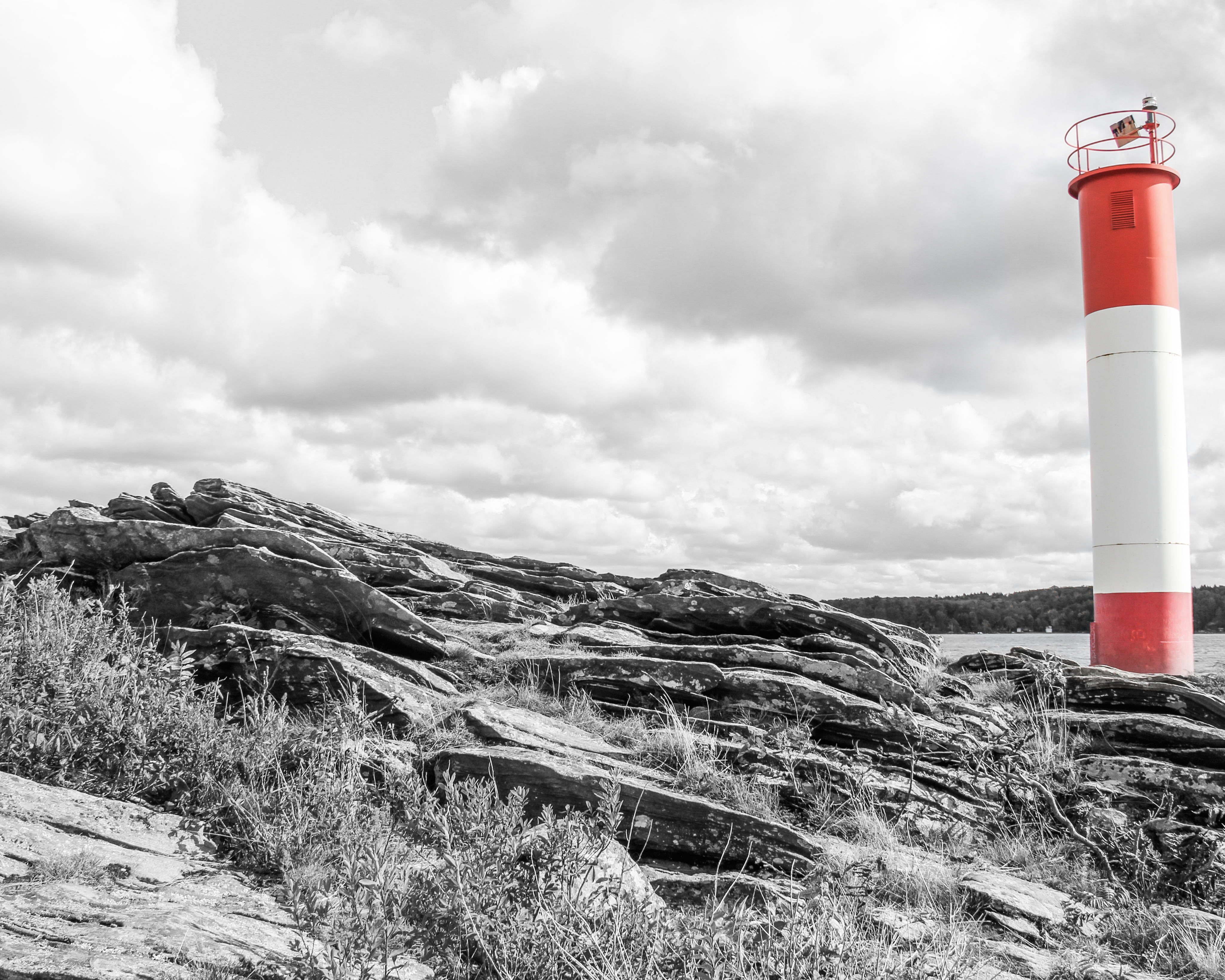 Killbear Georgian Bay Lighthouse with black and white 8 x 10.jpg