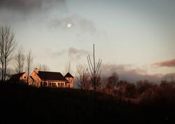 Farmhouse at Sunrise