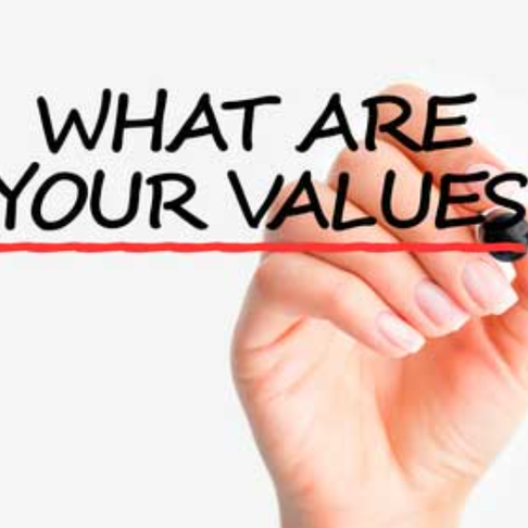 Identifying Your Values