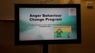 Anger management program on tv
