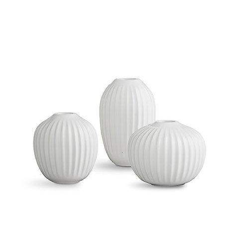 Kahler Hammershøi Vase - 3-pack - White