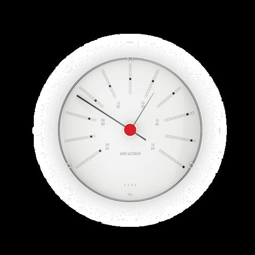 Arne Jacobsen Bankers Weather Station Barometer 12cm