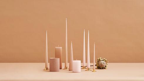 Ester and erik candles - blomster designs - scandinavian homeware - uk stockists