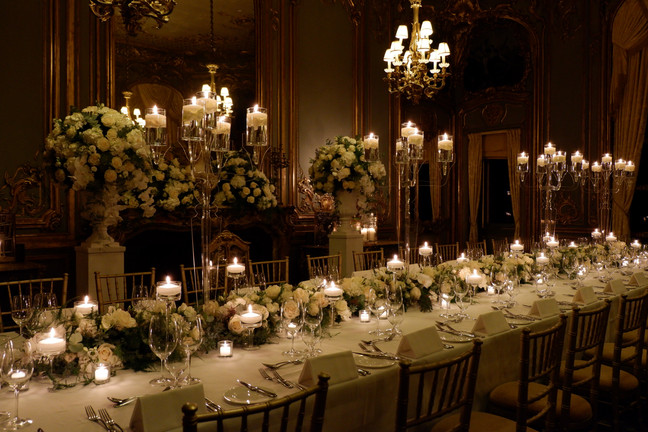 Cliveden House - French dining room