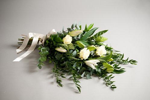 Tied Sheaf - funeral flowers