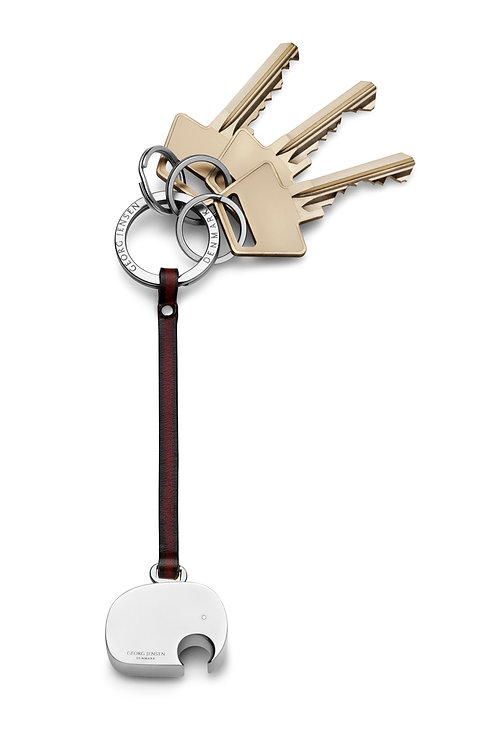 Georg Jensen Elephant Key Ring