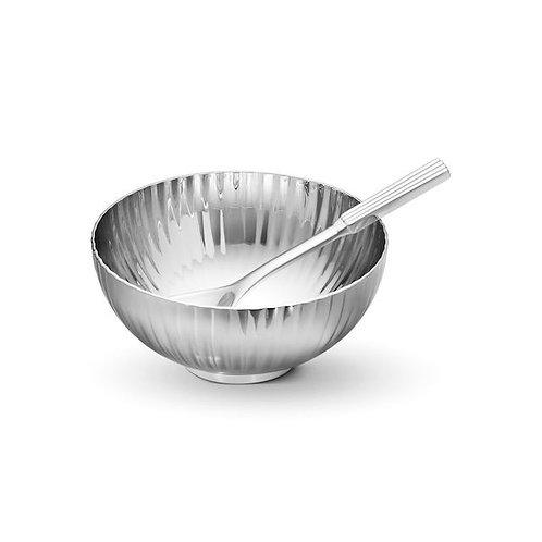 Georg Jensen Bernadotte Salt Cellar & Spoon