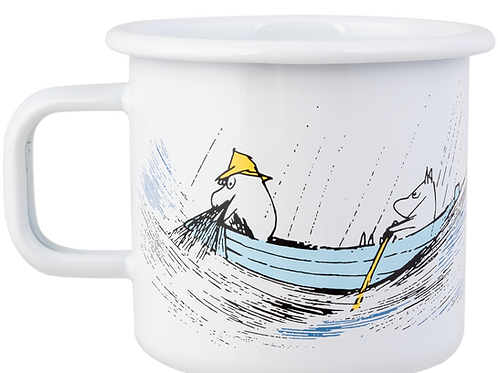 Moomin Originals Enamel Mug - Gone Fishing