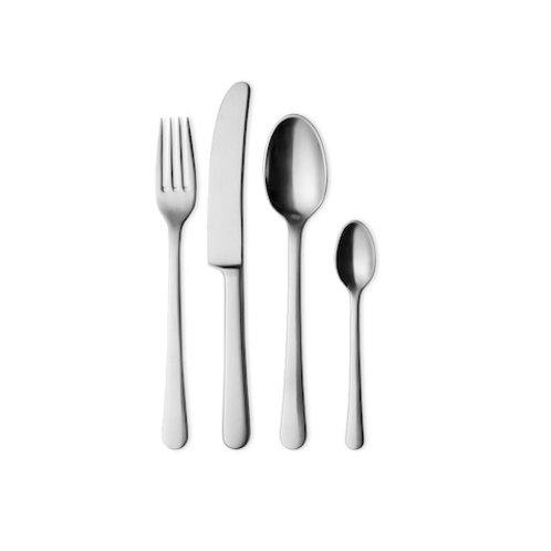 Georg Jensen Copenhagen Cutlery Set - Matte 24 pcs