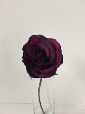 Artificial Rose - Dark Pink