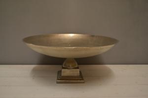 Silver Metal Dish