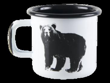 Muurla Nordic Enamel Mug - The Bear