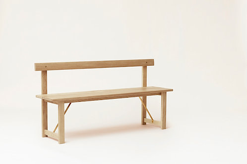 Form and Refine Position Bench - White Oak