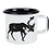 Muurla Nordic Enamel Mug - The Deer
