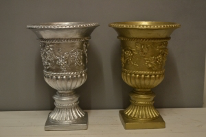 Silver or Gold Urn