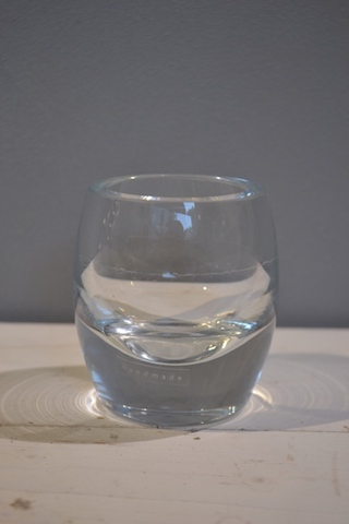 Glass Votive - Bullet - Clear