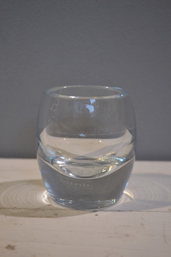Glass Votive - Bullet - Clear