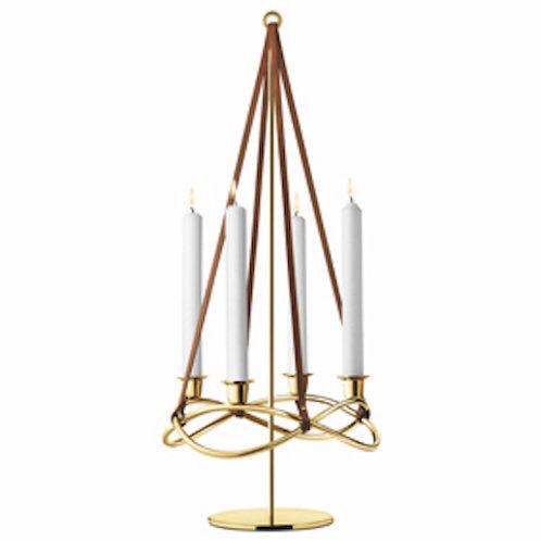 Georg Jensen Season Candle Holder Extension - Gold