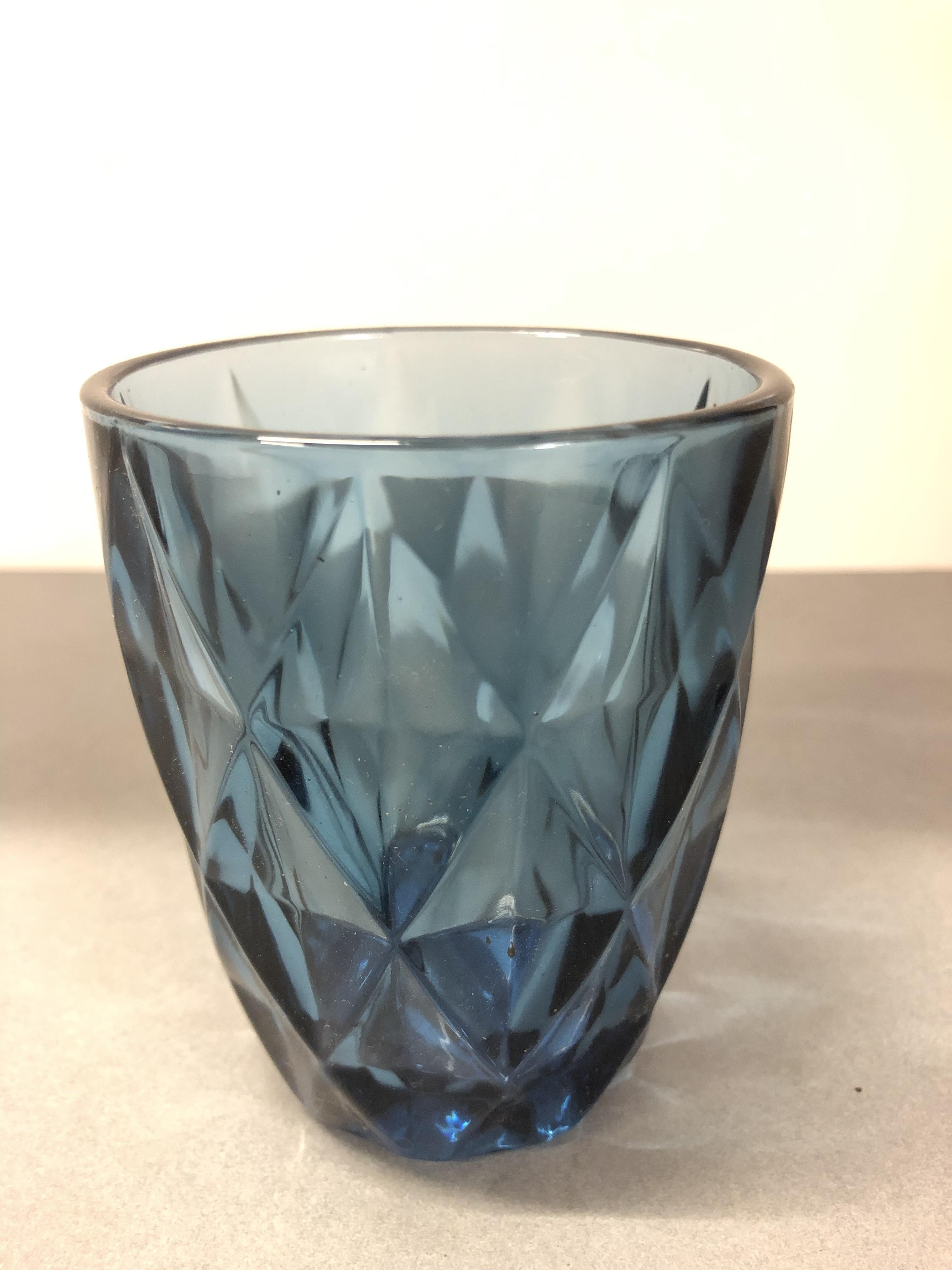 Blue Tumbler Vase