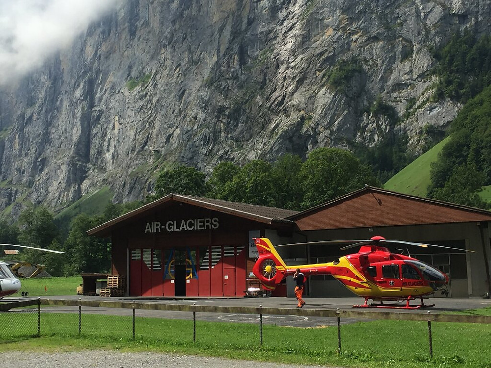 Air-Glaciers Lauterbrunnen Heliport