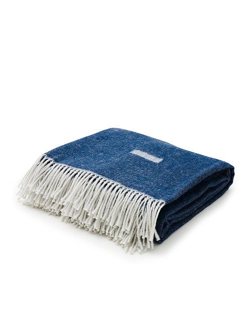 Skagerak Iota Blanket - Royal Blue