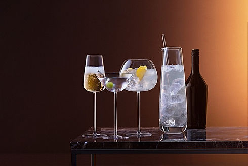 LSA Stemware - Glasses - coctail - blomster designs uk stockists