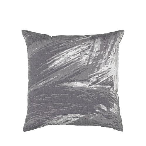 Broste Copenhagen Cushion Cover - Paint - Grey