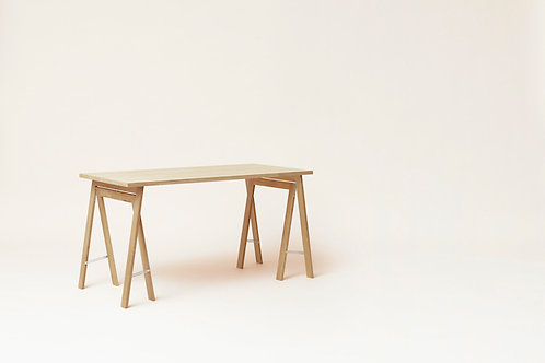 Form and Refine Linear Tabletop - 125 x 68 - White Oak