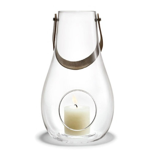 Holmegaard Design with Light - Glass Lantern - 25cm