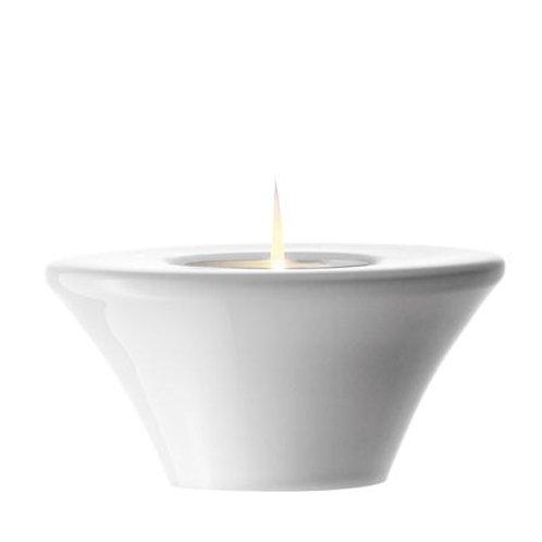 Lsa Oslo Tealight Holder 7cm White