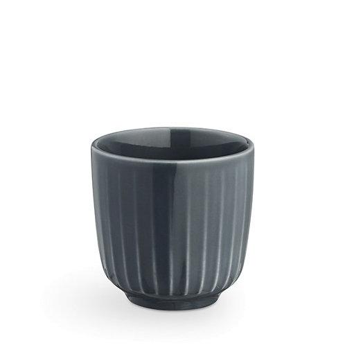 Kahler Hammershøi Espresso Cup - Anthracite - 10cl