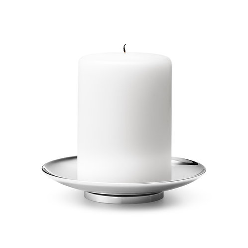 Georg Jensen Tunes Pillar Candle Holder/Bowl