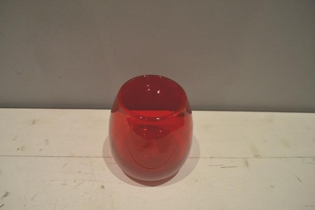 Red Posy Vase