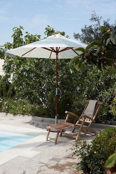 Skagerak steamer Deck Chair - Messina umbrella - blomster designs - uk stockists