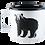Muurla Nordic Enamel Mug - The Bear uk stockists