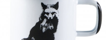 Muurla Nordic Enamel Mug - The Fox