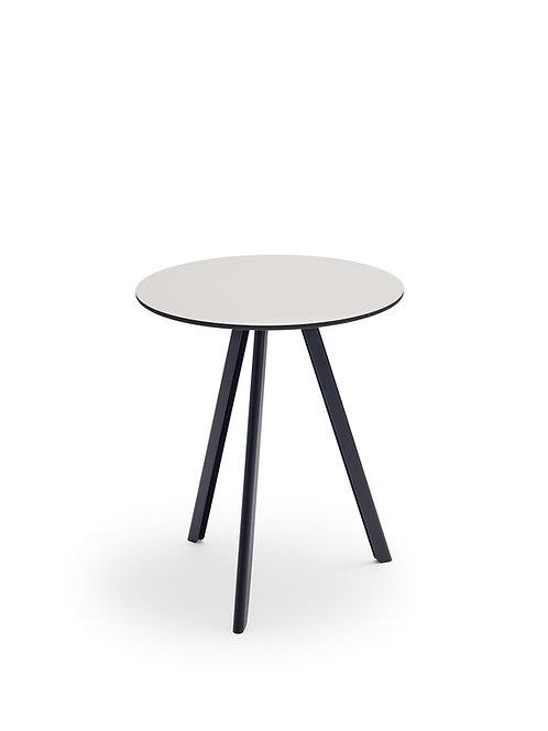 Skagerak Overlap Table ø62cm - Anthracite Black