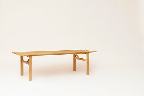 Form and Refine Damsgo Master Dining Table - Oak