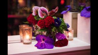 Watch a short video of the team styling the flowers.