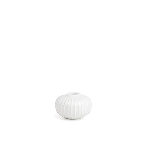 Kahler Hammershøi Candle Holder - White - Small
